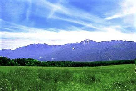 八ヶ岳・富士見高原の宿/南アルプス