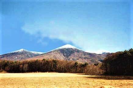 八ヶ岳・富士見高原の宿/編笠山