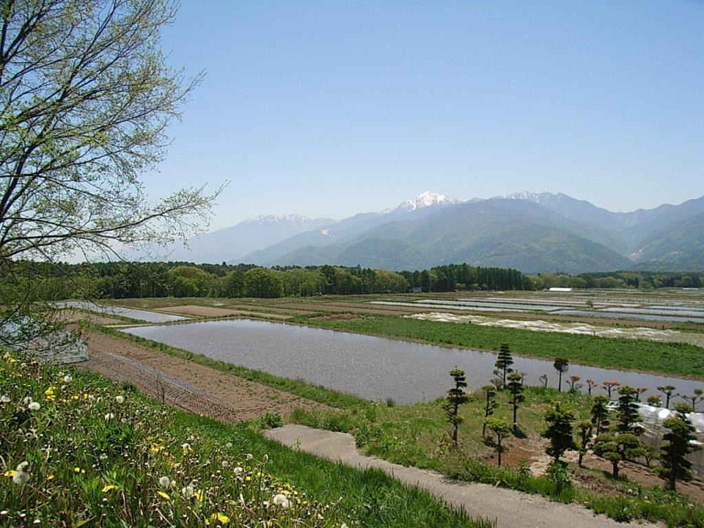 八ヶ岳・富士見高原の宿/富士見の田園風景