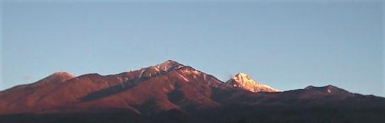 新年の八ヶ岳