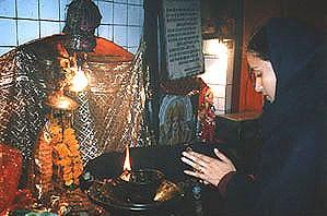 Haridwar/India - 神仏と曼荼羅
