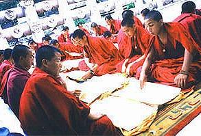 Bodhgaya/India  :チベット僧