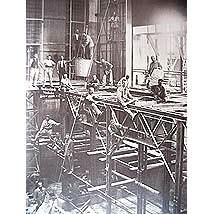 シュタイナー建築/第一ゲーテアヌムの工事