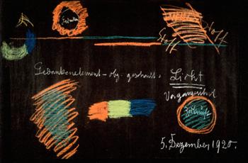 シュタイナーの黒板絵
